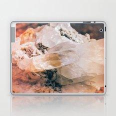 Dreamy Large Quartz Crystals Laptop & iPad Skin
