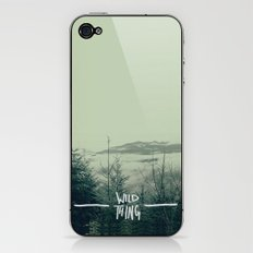 Wild Thing: Skagit Valley, Washington iPhone & iPod Skin