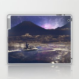Above and beyond Laptop & iPad Skin