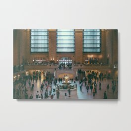 The Amazing Grand Central Station II Metal Print