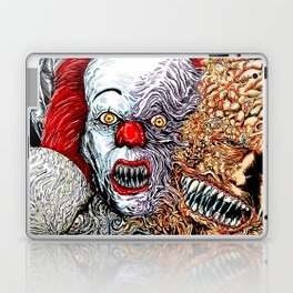 Horror mash Laptop & iPad Skin