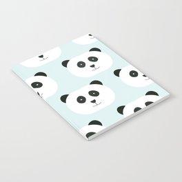 Panda Love- Mint Blue Notebook