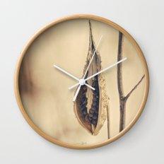 Exposed Wall Clock