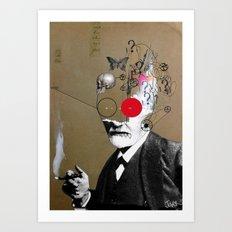 Freudian slip Art Print