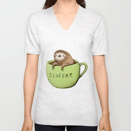 Sloffee Unisex V-Neck
