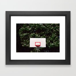 HoopDreams Framed Art Print