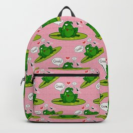 Croak  me, baby! Backpack