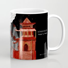 """Beijing"" Illustration Tarmasz Coffee Mug"