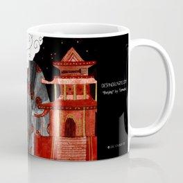 """""""Beijing"""" Illustration Tarmasz Coffee Mug"""