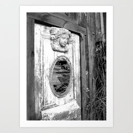 Medusa's doorway 2 Art Print