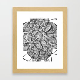 circles 1 Framed Art Print