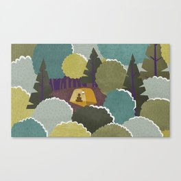 Backwoods Canvas Print