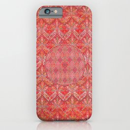 Kashmir North Indian Moon Shawl Print iPhone Case
