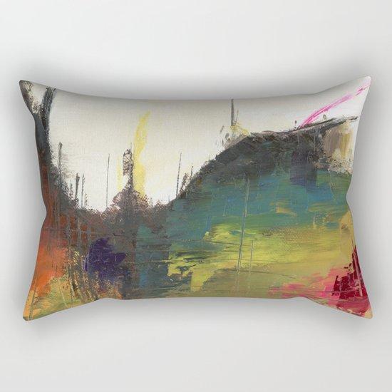 Dragon Abstract Rectangular Pillow