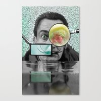dali Canvas Prints featuring DALI by Marian - Claudiu Bortan