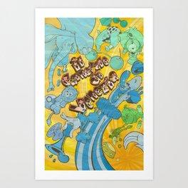 Circus Poster Art Print