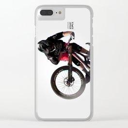 "Josh Bryceland ""Ratboy"" Santa Cruz Syndicate Clear iPhone Case"