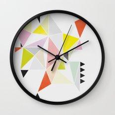 Multicolor Geometric Wall Clock