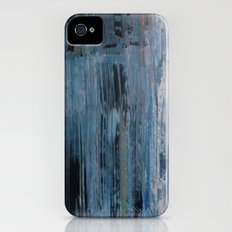 ABSTRACT BLUE iPhone (4, 4s) Slim Case