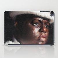 biggie smalls iPad Cases featuring Biggie Smalls by André Joseph Martin