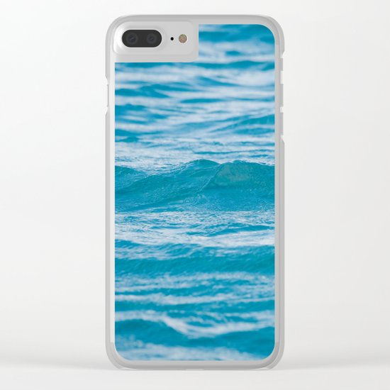 OH, OCEAN Clear iPhone Case