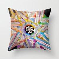 escher Throw Pillows featuring Escher Star by Todd Huffine