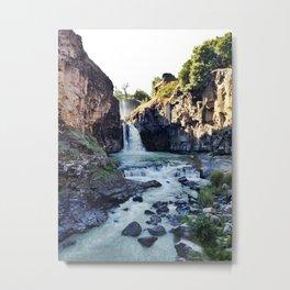 White River Falls Metal Print