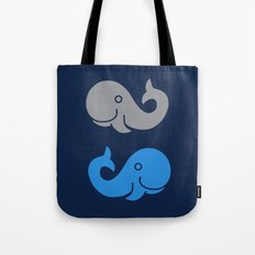 The Elephant & The Whale Tote Bag