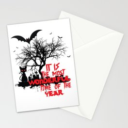 Halloween Design Wonderful Time Stationery Cards