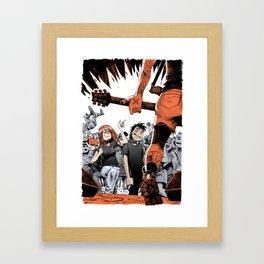 Vegan HxC Framed Art Print