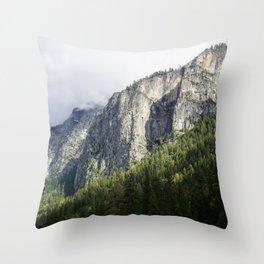 Valley of Light Throw Pillow