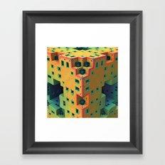Adobe Hotel Framed Art Print