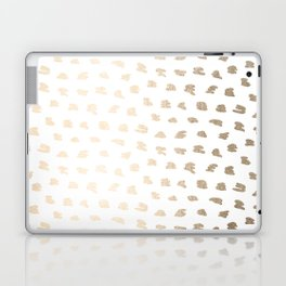 Golden Hot Spots Laptop & iPad Skin