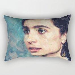 Timmy Watercolor Rectangular Pillow