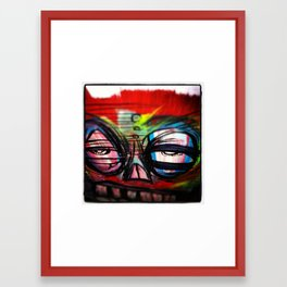 make what you are Framed Art Print