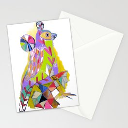 COLOR ME BIRDY Stationery Cards