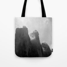 Three Peaks Tote Bag