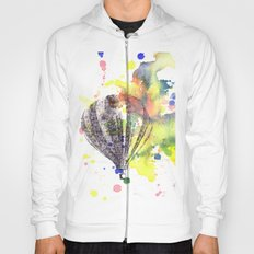 Hot Air Balloon Rising in Color Hoody