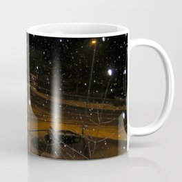 A snowy winters night Coffee Mug