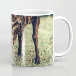 Reindeer Meal and Antlers Coffee Mug