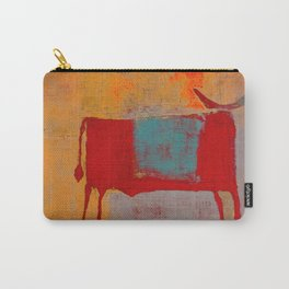 Toro Rojo Carry-All Pouch