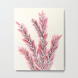 Hawaiian Ti Plant Metal Print