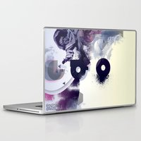 freud Laptop & iPad Skins featuring freud' ego by ferzan aktas
