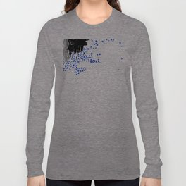 Abstract Smudges and Bubbles Long Sleeve T-shirt