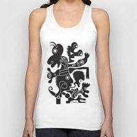 tote bag Tank Tops featuring Tote Um by Ray Moore