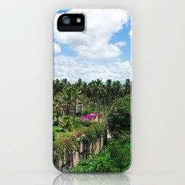 Sri Lankan Gardens iPhone Case