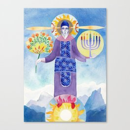 Melkhitsedek Canvas Print