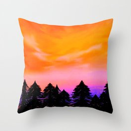 Somewhere In Your Dreams Throw Pillow