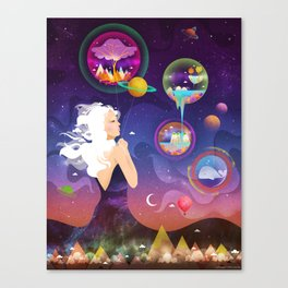 Wonderworlds Canvas Print