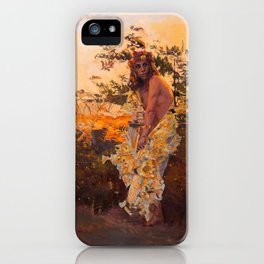 Shedding Selkie iPhone Case